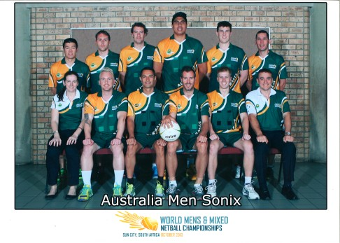 2013 South Africa Tour - Mens Sonix