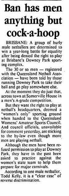 Canberra Times 11 July 1993