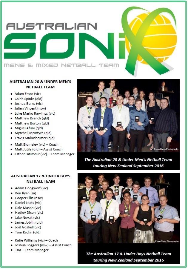 Sonix Junior Squad Sept 2016