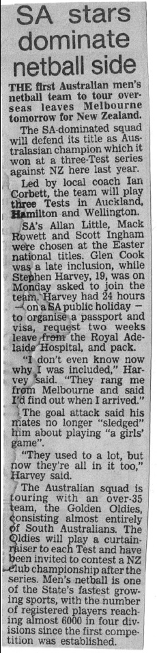 Trans Tasman Article 1987a